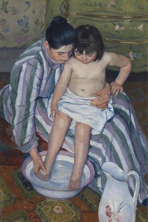 The Child's Bath, 1893