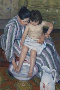 The Child's Bath, 1893 by Mary Stevenson Cassatt