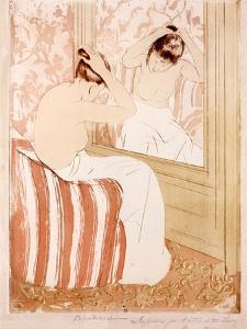 The Coiffure by Mary Stevenson Cassatt
