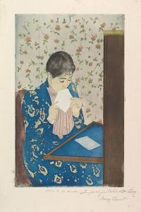The Letter, 1890–91 by Mary Stevenson Cassatt