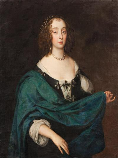Mary Stewart, Duchess of Richmond and Lennox, c.1640-Unknown Artist-Giclee Print