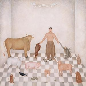 Adam Naming the Animals, 1993 by Mary Stuart