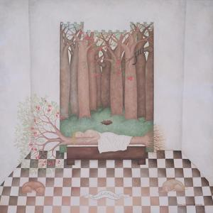Eve Sleeping with the Tree of Wisdom, 1999 by Mary Stuart
