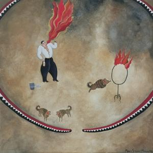 Fire Eater, 1980 by Mary Stuart