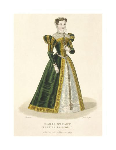 Mary Stuart-Louis-Marie Lante-Premium Giclee Print