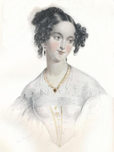 Mary Teresa, Wife of Sixteenth Earl of Shrewsbury, 1834-L Mansion-Giclee Print