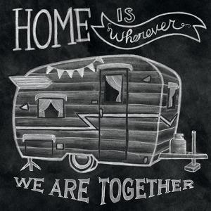 Adventure Love Camper Chalk by Mary Urban