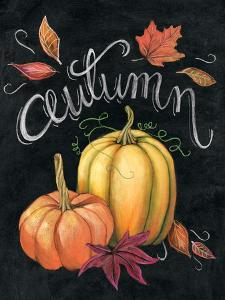 Autumn Harvest I Gold Pumpkin by Mary Urban