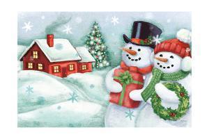 Classic Snowmen II by Mary Urban