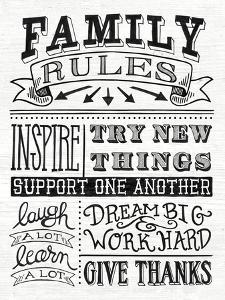 Family Rules II by Mary Urban