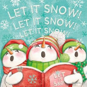 Let it Snow VIII Eyes Open by Mary Urban