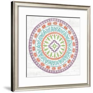 Lovely Llamas Mandala II by Mary Urban