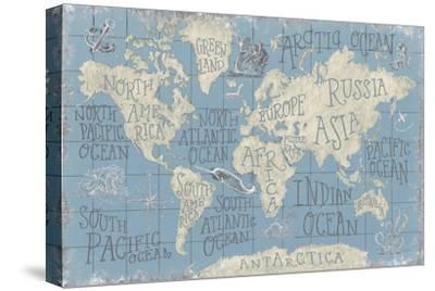 Mythical Map I Blue