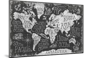 Mythical Map I by Mary Urban
