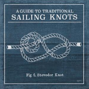 Vintage Sailing Knots VI by Mary Urban