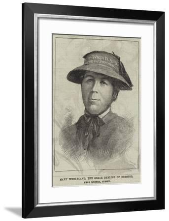 Mary Wheatland, the Grace Darling of Bersted, Near Bognor, Sussex--Framed Giclee Print