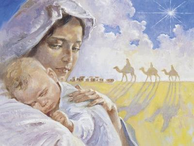 Mary with Baby Jesus-Hal Frenck-Giclee Print