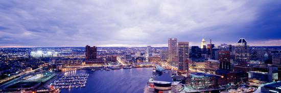 Maryland, Baltimore, Cityscape--Photographic Print