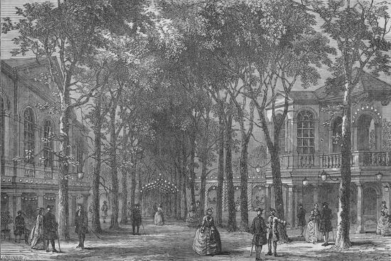 Marylebone Gardens, Westminster, London, 1870 (1878)-Unknown-Giclee Print