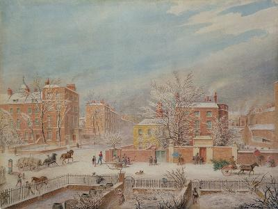 Marylebone Road at the Junction with Lisson Grove and Stingo Lane-T. Paul Fisher-Giclee Print