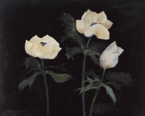 Midnight Anemones II by Marysia Burr