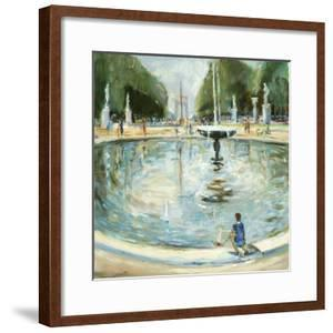 Parisian Afternoon II by Marysia Burr
