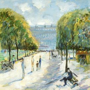 Parisian Afternoon IV by Marysia Burr