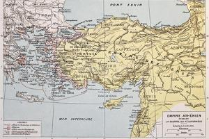 Athenian Empire Old Map by marzolino