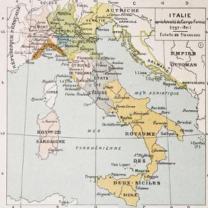 Italy Between the End of 18th Century and the Beginning of 19th (Treaty of Campo Formio) by marzolino