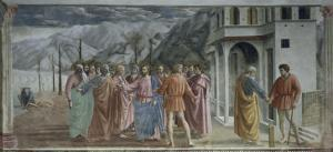 Payment of Tribute by Masaccio