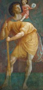 S. Cristoforo by Masaccio