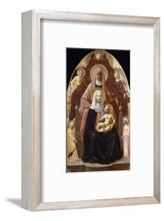 St. Anne, Madonna & Child.