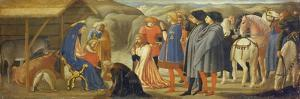 The Adoration of the Kings (Centre Predella), 1426 by Masaccio