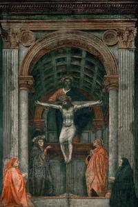 The Holy Trinity, Fresco by Masaccio