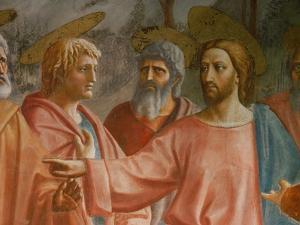 The Tribute Money by Masaccio