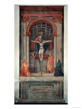 Trinita, 1427, Fresco