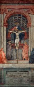 Trinita, 1427, Fresco by Masaccio