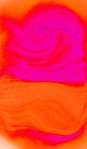 Nirvana: A Large Pink Dahlia Always Watches My Mind by Masaho Miyashima