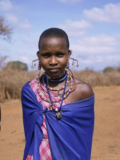 Masai Woman, Kenya, East Africa, Africa-Philip Craven-Photographic Print