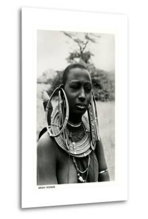 Masai Woman with Ear Hoops