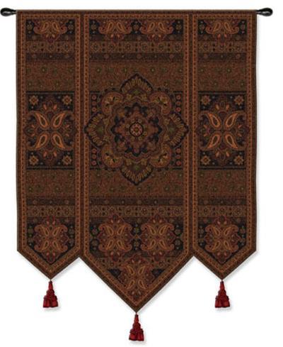 Masala Cinnamon--Wall Tapestry