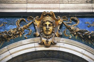Mascaron Above an Entrance, Vaci Street, Pest, Budapest, Hungary--Giclee Print