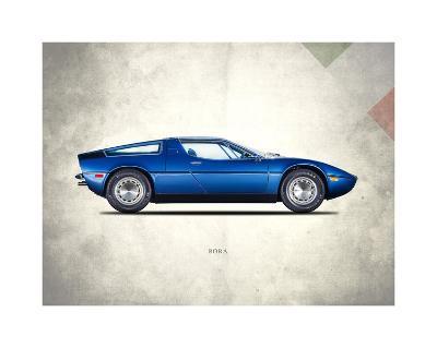 Maserati Bora 1973-Mark Rogan-Giclee Print