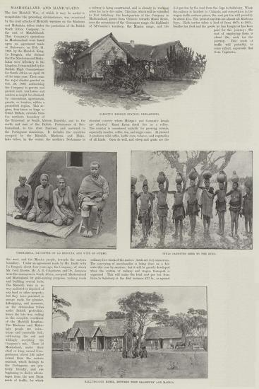 Mashonaland and Manicaland-Amedee Forestier-Giclee Print