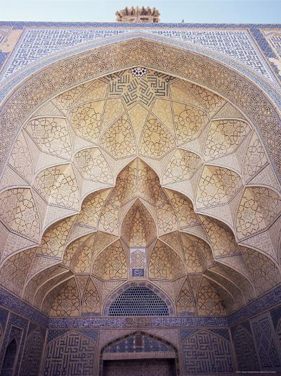 Masjid-I-Jami (Friday Mosque), Isfahan, Iran, Middle East-Robert Harding-Photographic Print