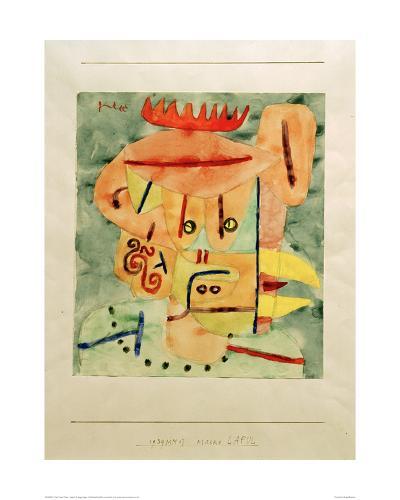 Mask - Lapul-Paul Klee-Giclee Print