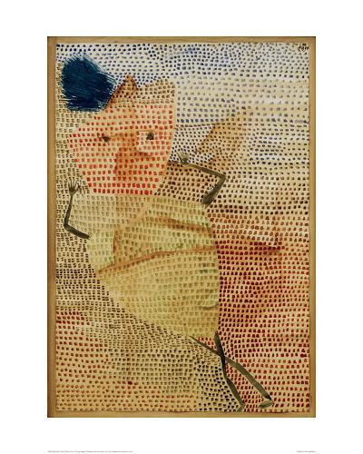 Mask Louse-Paul Klee-Giclee Print