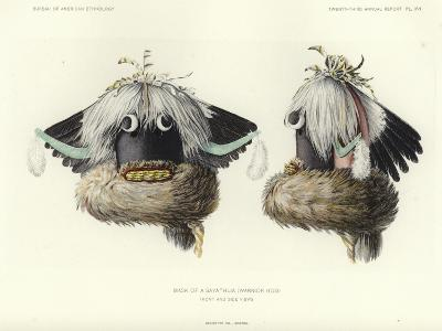Mask of a Sayathlia--Giclee Print