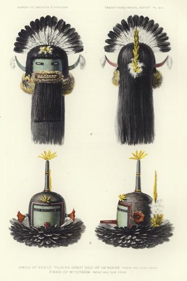 Mask of Kokko Thlanna--Giclee Print