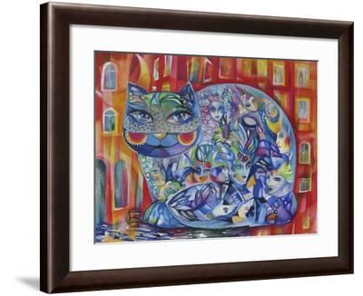 Mask-Oxana Zaika-Framed Giclee Print